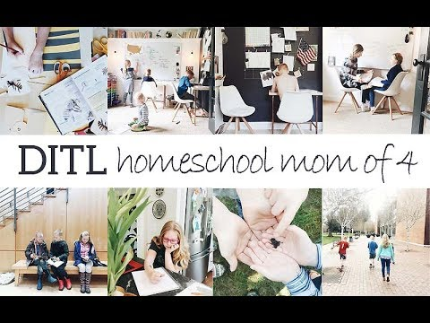 DAY IN THE LIFE | Homeschool mom of 4
