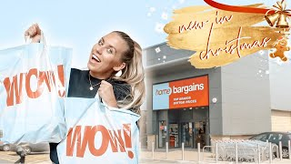 NEW IN HOME BARGAINS *AUTUMN/CHRISTMAS 2019!* | COME TO HOME BARGAINS WITH ME!