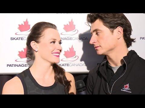 Tessa Virtue & Scott Moir [HD] - Skate Canada International 2016 Interview