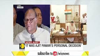 Ajit Pawar's decision against party, no NCP leader in favour of govt with BJP: Sharad Pawar