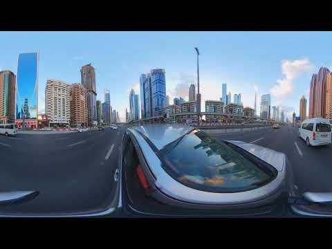 Dubai Sheikh Zayed Road Virtual tour 360