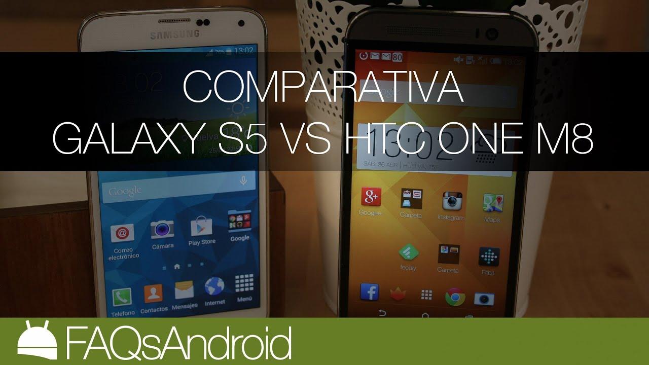Comparativa Samsung Galaxy S5 vs HTC One M8 | FAQsAndroid ...Htc One Max Vs Galaxy S5