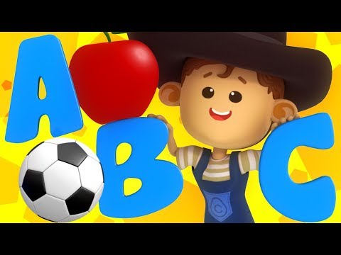 ABC Phonics Song For Kids | Little Eddie Cartoons | Nursery Rhymes by Kids Tv