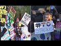 Westboro Baptist Church members face large counterprotest group in Thousand Oaks I ABC7