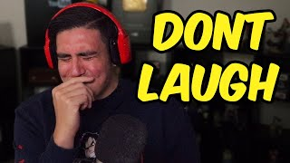 I TRIED TO HOLD IN MY LAUGH SO HARD THAT I STARTED CHOKING | Try To Make Me Laugh (Fan Submissions)