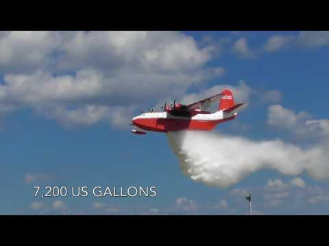 The Mighty Martin Mars Water Bomber - Oshkosh 2016