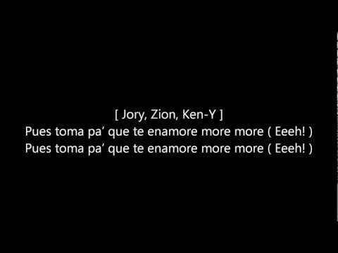 More - Zion Ft Jory & Ken-Y (Original Con letra ) ★REGGAETON 2012★ / DALE ME GUSTA