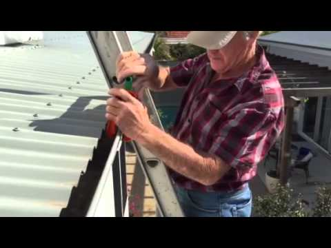 Secure Ladder To Roof Using The Cqr Ladder Clamp Demo