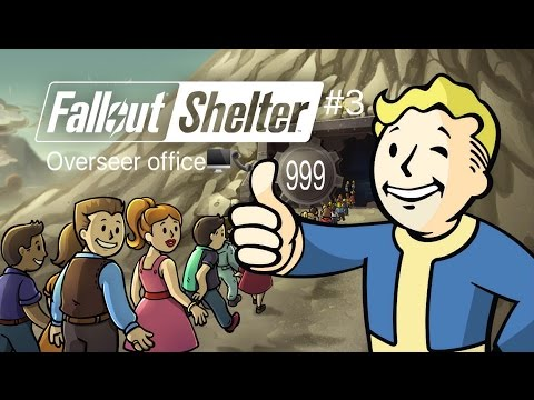 Overseer Office?!?!: Fallout Shelter #3