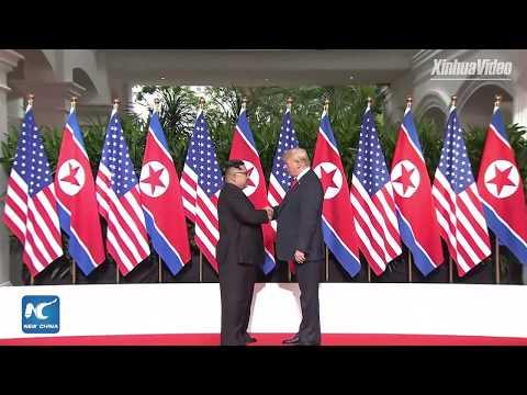 LIVE: Kim Jong Un, Donald Trump hold historic meeting in Singapore