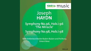 "Symphony No. 96 in D Major, Hob. I:96 ""The Miracle"": IV. Finale: Vivace assai"