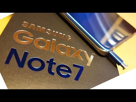 Rolling Out! Note7 Unboxing
