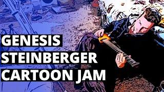 Genesis Steinberger Jam Cartoon