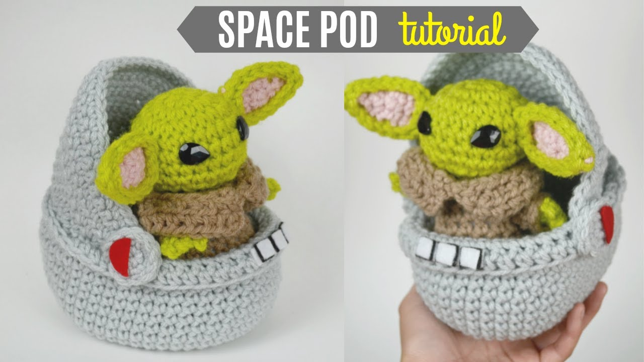 10 Amigurumi Yoda Crochet Patterns - Crochet & Knitting | 720x1280