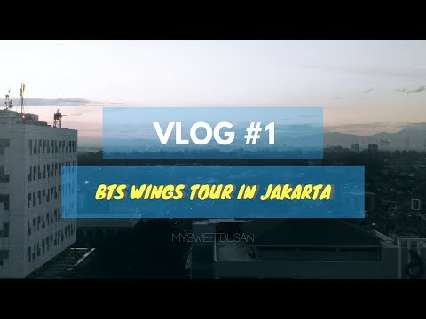 EXPERIENCE MEETING BTS 🌸 29th april 2017 🌸 wings tour in jakarta 💣 -vlog/fancam- | hey chynthia