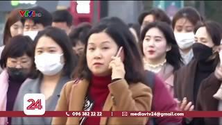 Hàn Quốc tăng gần gấp đôi ca nhiễm Covid-19 trong 1 ngày|Thế giới có 76.790 ca nhiễm | VTV24