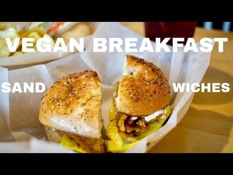 VEGAN breakfast sandwiches  //  Ultra Coffeebar  //  Asheville, NC