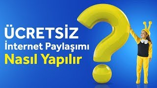 Turkcell Ücretsiz Hotspot Nasıl Yapılır