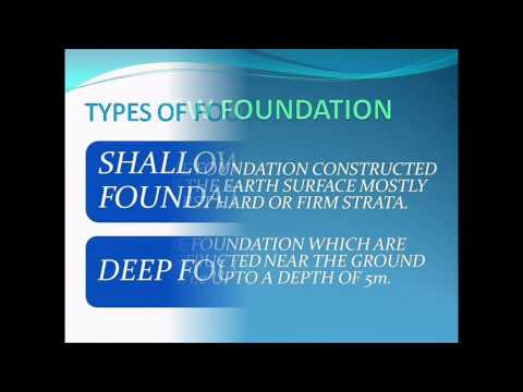 Foundations and different types of foundations || civil engineering
