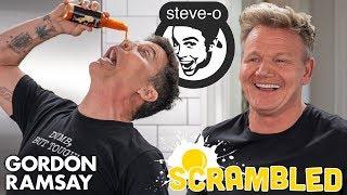 Steve-O Shocks Gordon Ramsay While Making A Southwestern Omelette   Scrambled