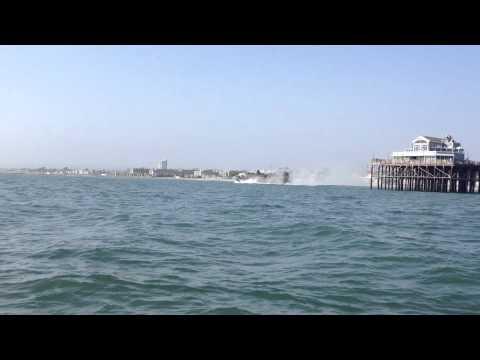 Giant Hovercraft in Oceanside California