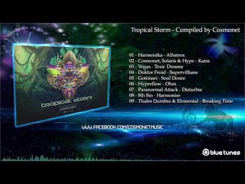 Tropical Storm - Compiled by Cosmonet - Continuous Mix