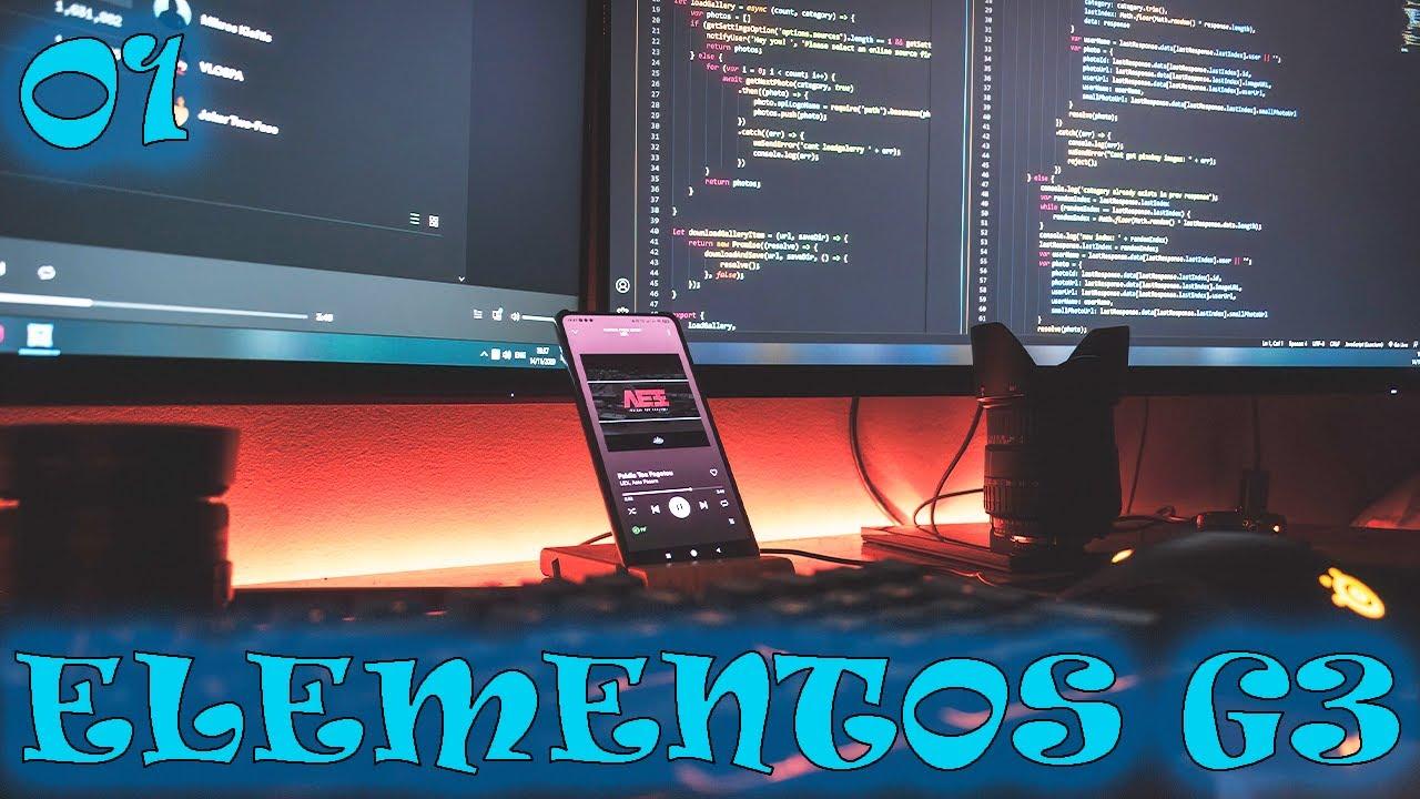 Download Elementos G3 - 01 Recomendaciones para la materia y nociones generales