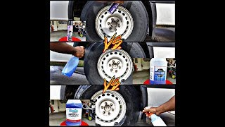 Tire shine review & comparison Royal Shine Superior Products Cover all and No Touch
