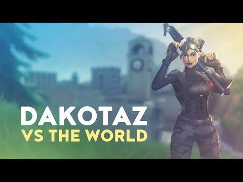 DAKOTAZ vs. THE WORLD! (Fortnite Battle Royale)