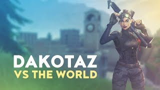 DAKOTAZ vs. THE WORLD! (Fortnite Battle Royale)
