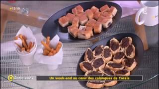 FR5-la quotidienne-Un week end au coeur des calanques de Cassis