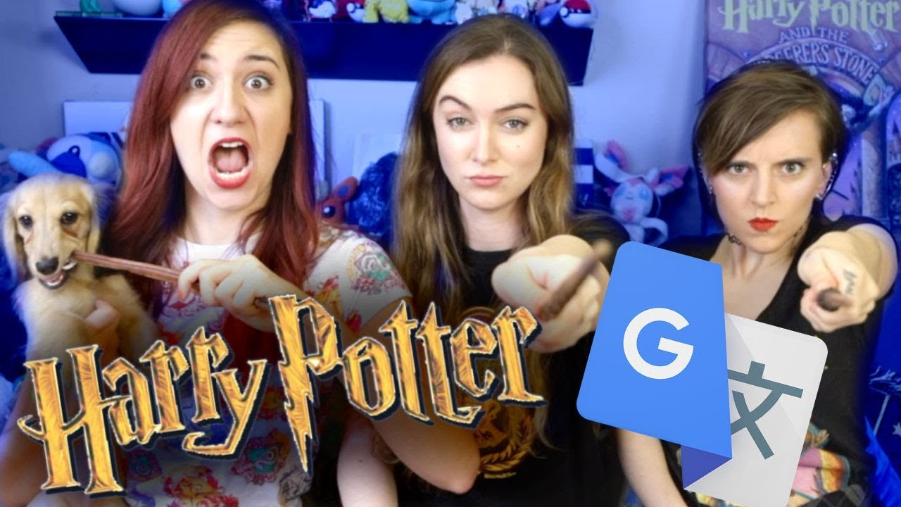 Harry Potter Meets Google Translate Ft Brizzy Voices And Tessa