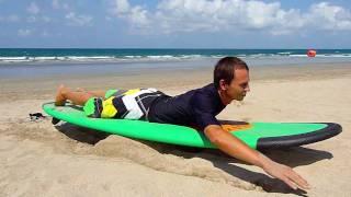 Школа серфинга Windy Sun: Греби-греби!