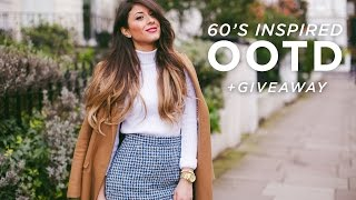 60's Inspired OOTD + Giveaway | Mimi Ikonn Thumbnail