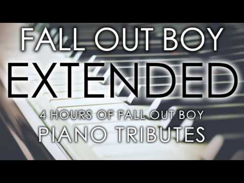 Fall Out Boy - PIANO TRIBUTES - 4 Hour Long Mega Mix [Tribute to Fall Out Boy]