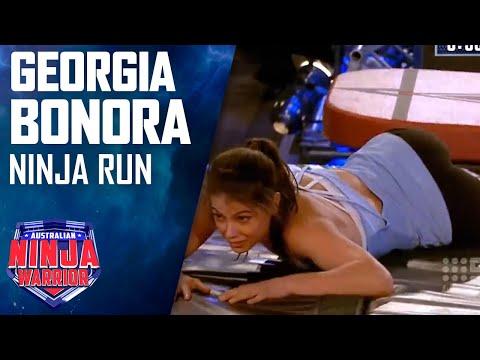 Ninja run: Georgia Bonora | Australian Ninja Warrior 2018