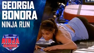 Ninja run: Georgia Bonora | Australian Ninja Warrior 2018