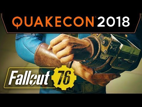 Fallout 76 at QuakeCon 2018 - NEW GAMEPLAY & INFO!