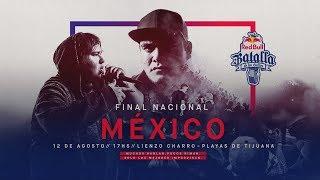 Final Nacional México 2018 - Red Bull Batalla De Los Gallos