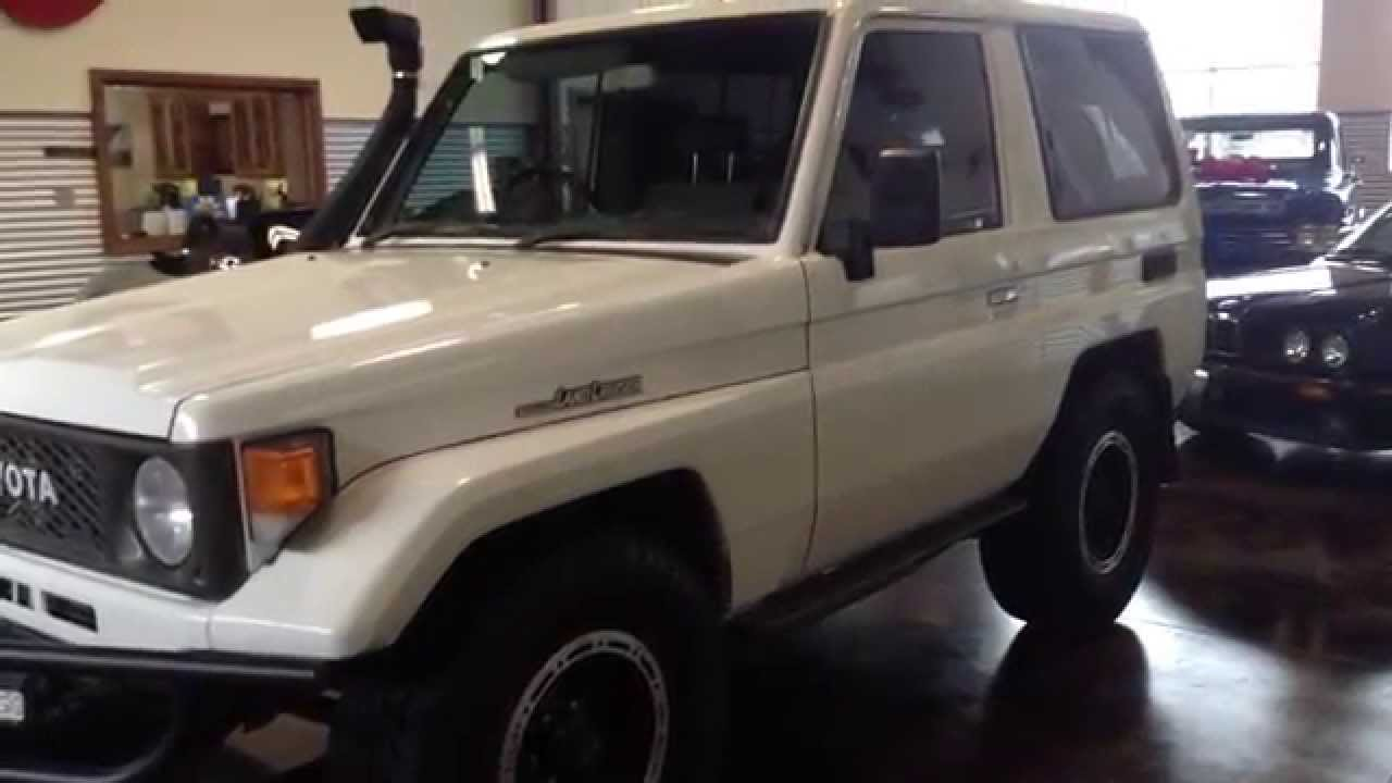 Captivating Test Drive: 1985 Toyota Land Cruiser BJ70 SOLD At The Sun Valley Auto Club    YouTube