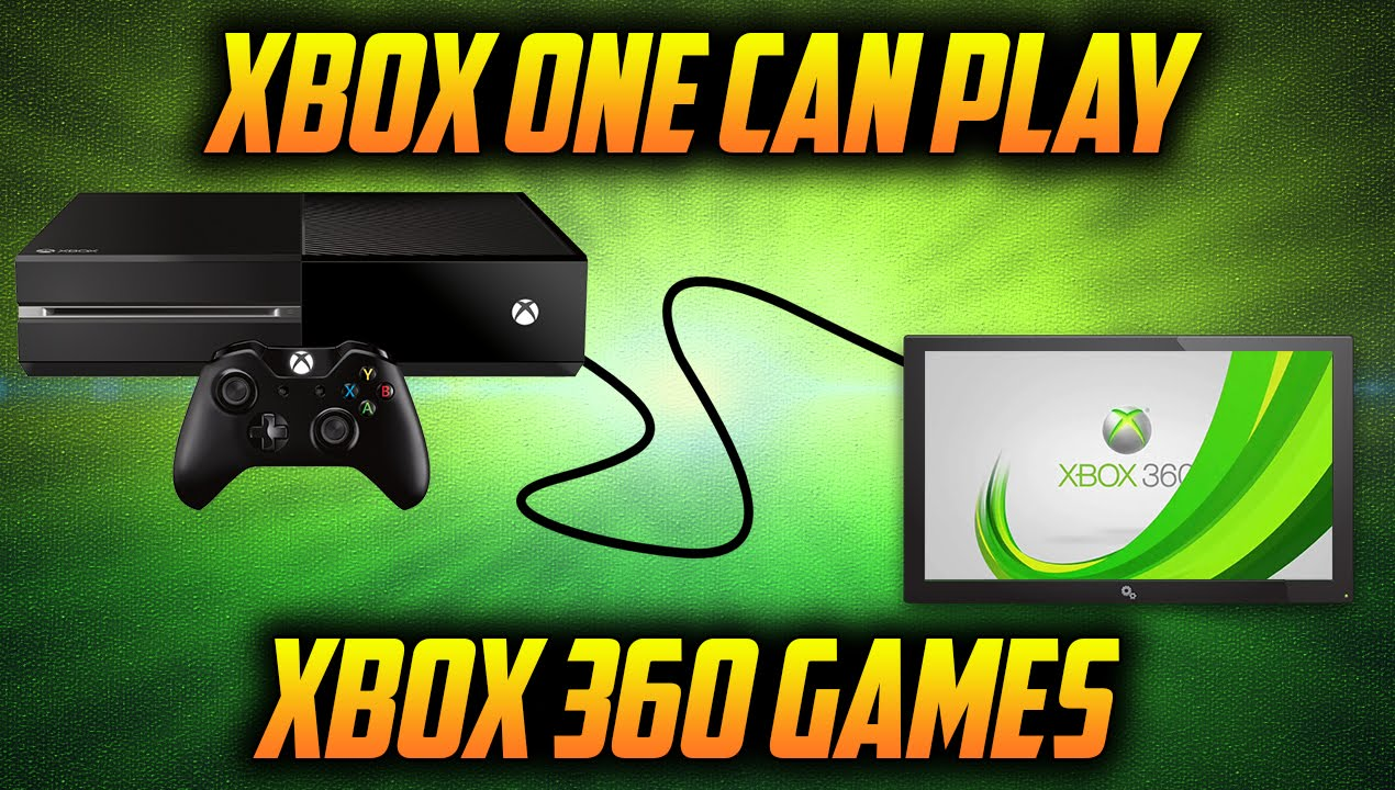 Xbox One Can Play Xbox 360 Games Xbox One Is Backward