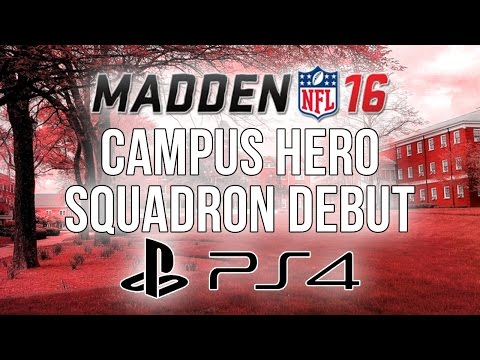 Madden 16 Ultimate Team :: Campus Hero Squadron Debut! ::-XBOX ONE Madden 16 Ultimate Team