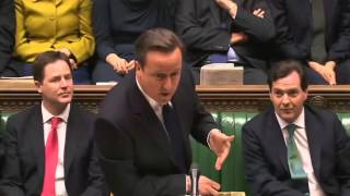 David Cameron's funniest moments in the British parliament