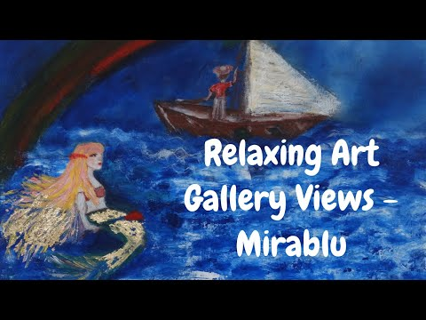 Relaxing Art Gallery Views - Mirablu HD [Full HD] | Chill Out Music | DEEP SLEEP | MEDITATION from YouTube · Duration:  11 minutes 48 seconds