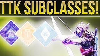 Destiny 2. Taken King Subclasses In Destiny 2. (Stormcaller & Nightstalker Relic Found!)