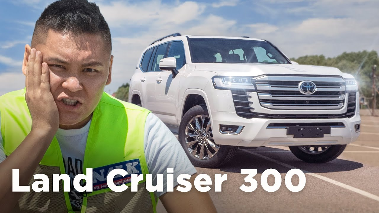 Toyota Land Cruiser 300. Алғаш танысу // Qaz Kolesa.kz