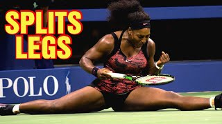 Collection Of Leg Splits By Serena Williams   SERENA WILLIAMS FANS
