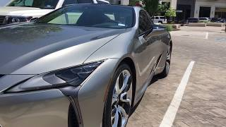 600 Mile Range Super Coupe!---2018 Lexus LC500H Review