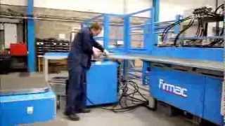 Линия для производства противопожарных клапанов(