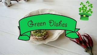 Green Dishes Ideas for St. Patrick